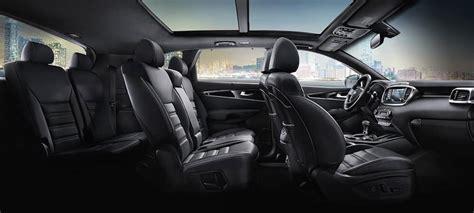 kia sorento interior dimensions features suv