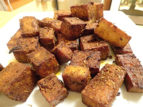 baked tofu the quot v quot word baked tofu