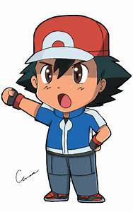 Chibi Ash by TrainerAshandRed35 on DeviantArt