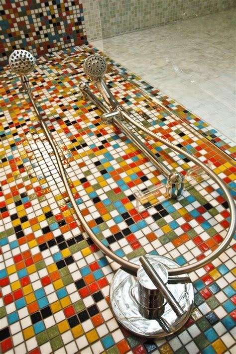 colorful mosaic tiles tile design ideas