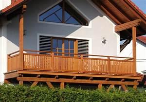 Balkon Handlauf Holz : terrassengel nder balkongel nder balkongel nder aus ~ Lizthompson.info Haus und Dekorationen