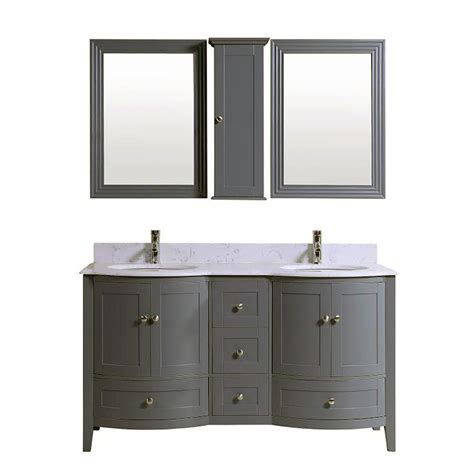 double sink bathroom vanity cabinet grey