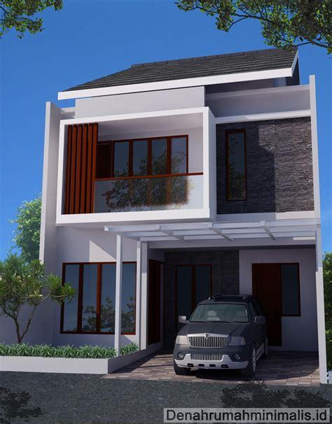 Denah Rumah 2 Lantai Minimalis Renovasirumahnet