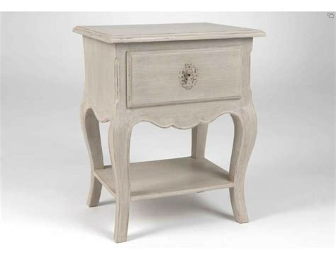 Le De Table De Nuit by Table De Chevet Romantique Meuble Amadeus