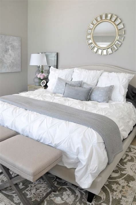 White Accent Pillows For Bed by Neutral Master Bedroom Refresh White Bedding Master
