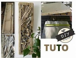 Tableau En Relief : tuto tableau zen en relief driftwood bois flott ~ Melissatoandfro.com Idées de Décoration