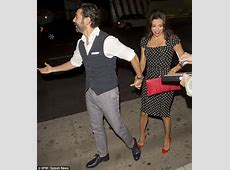 Eva Longoria and boyfriend Jose Baston can't stop giggling