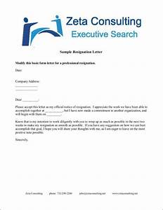 How To Write A Two Weeks Notice Email Free 37 Printable Resignation Letter Samples In Pdf Ms