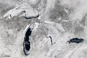 Great Lakes nearly freeze over for first time in decades ...