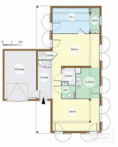 Plan De Maison   Maison Contemporaine Bois