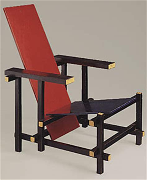 la chaise et bleue la chaise et bleue de gerrit rietveld