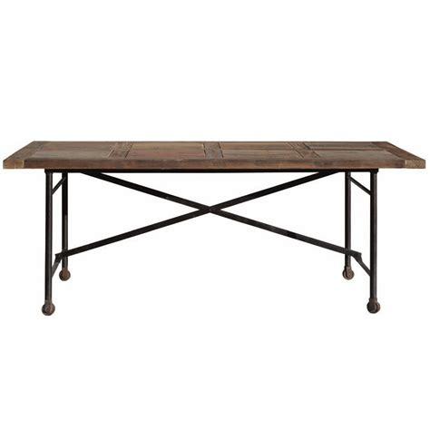 tavolo ferro legno tavolo legno vintage base ferro mobili sconti vendita