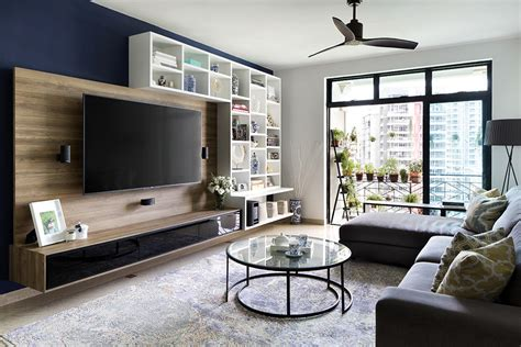 TV feature wall design: 10 ways to incorporate display ...