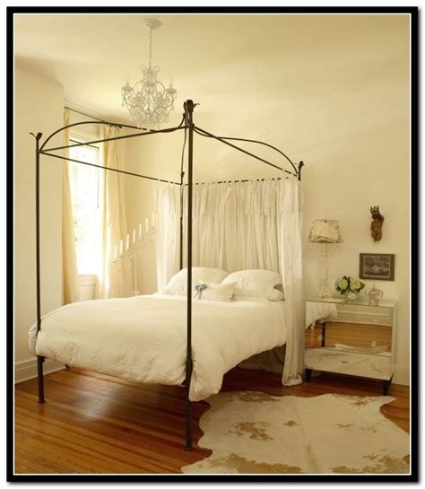 Full Size Canopy Bed Curtains  Beds  Home Design Ideas