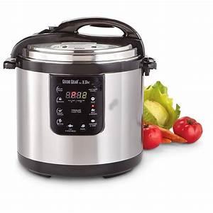 Guide Gear 10.5-Quart Pressure Cooker - 613588, Kitchen ...  Quart