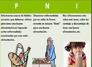 H U00e1bitos Alimenticios  Cuadro Pni  Positivo  Negativo