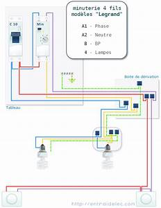 Branchement Detecteur De Mouvement : branchement minuterie 4 fils legrand elec 1 ~ Dailycaller-alerts.com Idées de Décoration