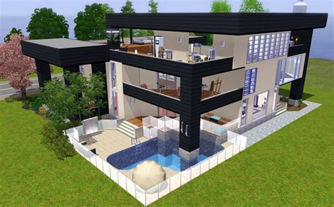 Moderne Häuser Sims 4 by Stylish Ideas Sims 4 Haus Bauen Ideen Melian Ie