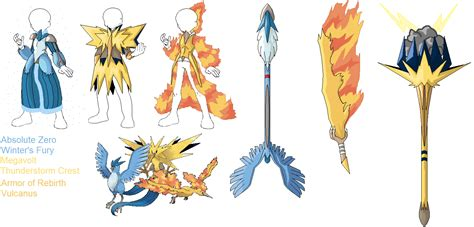 Pokemon Swords And Costumes Legendary Birds Articuno