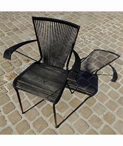 Fauteuil Fil Scoubidou : brocante vintage fauteuil vintage en fil de scoubidou ~ Teatrodelosmanantiales.com Idées de Décoration