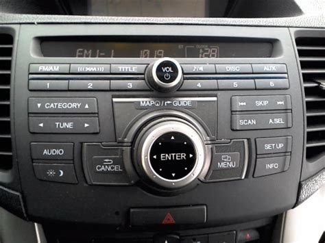2010 Acura Tsx Parts by Used Audio Visual Systems Radio For 2010 Acura Tsx Acura