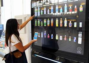Japan's Most Advanced Coinless Vending Machine - LIVE ...