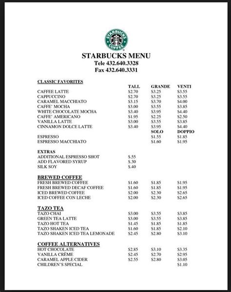Ordering one from starbucks can be an adventure, since there are so many options and variations to choose from. Starbucks Pricing … | Starbucks drink prices, Starbucks prices, Starbucks menu prices