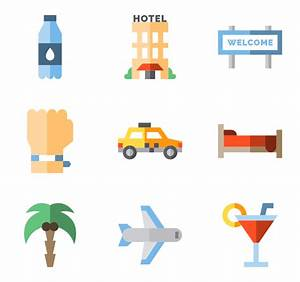 158 vacations icon packs - Vector icon packs - SVG, PSD ...
