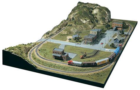 model train table kit ho layout design scenery