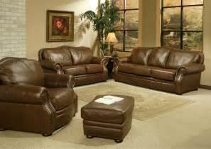 leather livingroom set living room sets traditional modern house