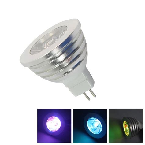10x remote rgb led spot light bulb mr16 gu5 3 12v