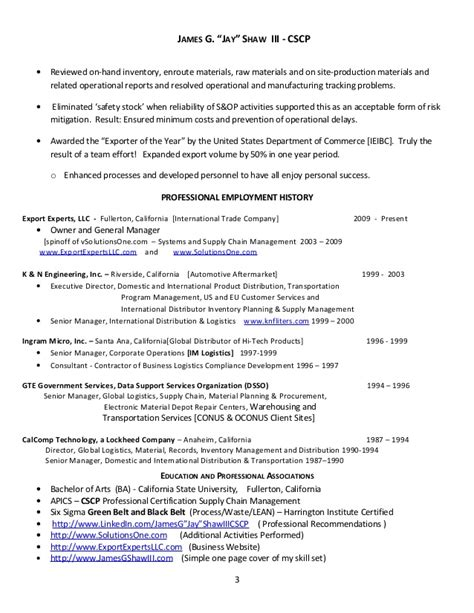 keywords for logistics resume resume ideas