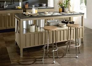 Petit Ilot Cuisine : tabouret cuisine bois tabouret pour lot central choix et ~ Premium-room.com Idées de Décoration