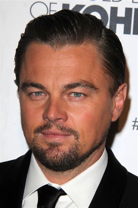 Leonardo Dicaprio Slicked Back Hair