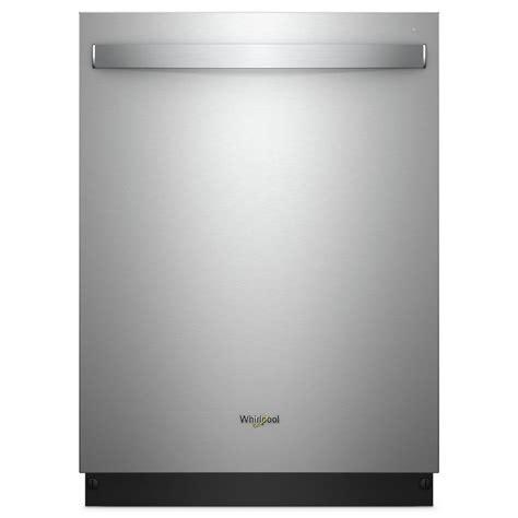 best whirlpool dishwasher whirlpool top built in dishwasher in fingerprint
