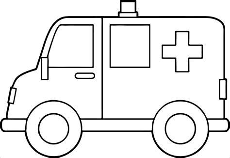 ambulance coloring pages ambulance coloring pages coloringbay