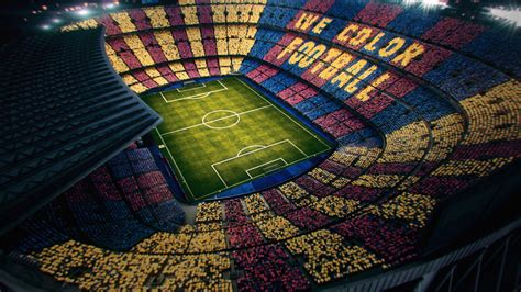 fc barcelona colors we color football a reversible mosaic for el cl 225 sico fc