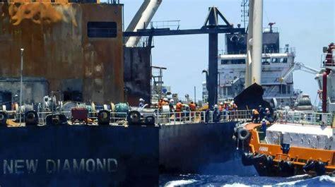 Sri Lanka to sue owner of fire-hit supertanker