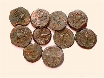 Coins Bronze Jerusalem Hebrew Revolt Unearthed Hoard