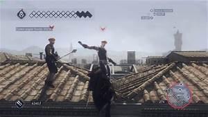 Guard Rock Throwing - Assassin's Creed II (ENB) - YouTube