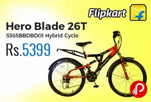Hero Blade 26T S365BBDBD01 Hybrid Cycle just at Rs.5399 ...