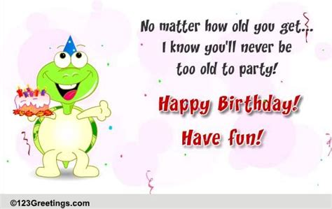 party  funny birthday wishes ecards