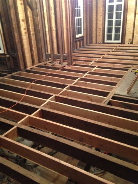 floor subfloor joist addition victorian