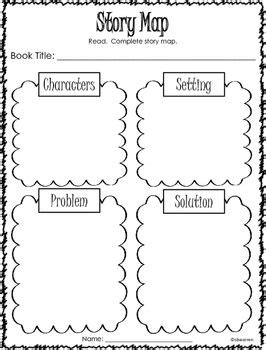 story map graphic organizers  images story map