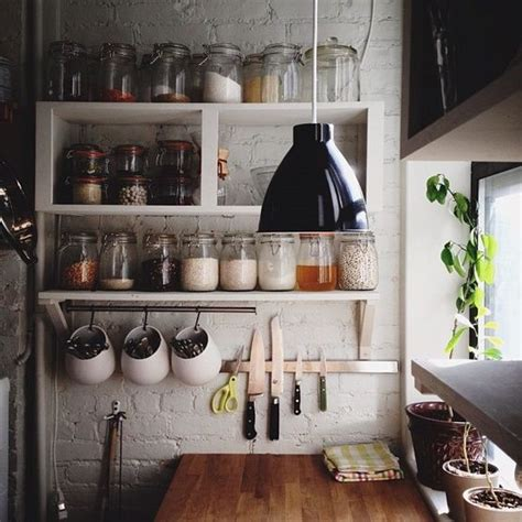 how to organize open kitchen shelves the world s catalog of ideas 8773