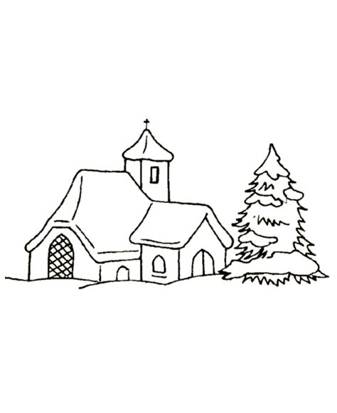 village scene coloring pages   print