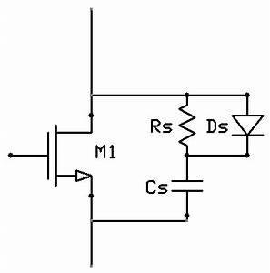 24 advanced dc motor control dr stienecker39s site for How to design a snubber circuit