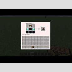 Minecraft Wie Baut Man Ein Zaubertisch Youtube