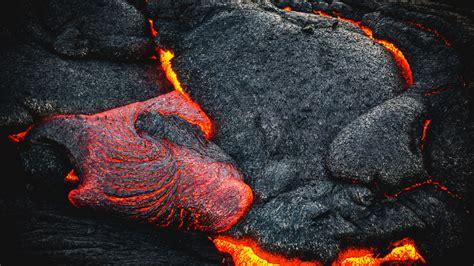 Download Wallpaper 3840x2160 Lava Fiery Surface Volcano