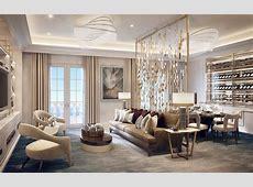 Formal Reception and Dining Room, Villa la Vague